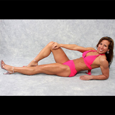 Modeling Photo Shoot, Linda Stephens, Figure Competition Model, 2011