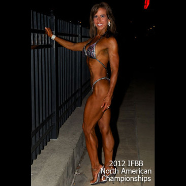 Modeling Photo Shoot, Linda Stephens, Figure Competition Model, Post NA Championships 2012