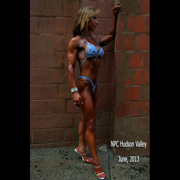 Modeling Photo Shoot, Linda Stephens, Figure Competition Model, Post NPC Hudson Valley Competition 2013