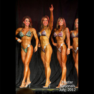 2012 Masters Nationals Figure Competition, Linda Stephens