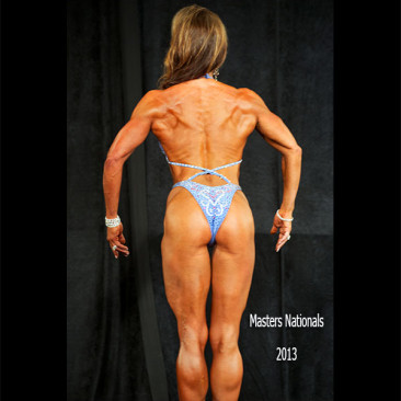 2013 Masters Nationals Championships Figure Competition, Linda Stephens