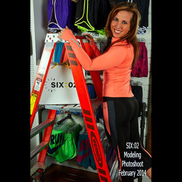 Modeling Photo Shoot, Linda Stephens, Figure Competition Model, SIX:02 Women's Apparel 2014