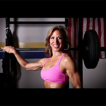 Modeling Photo Shoot, Linda Stephens, Figure Competition Model, Weight Room 2014