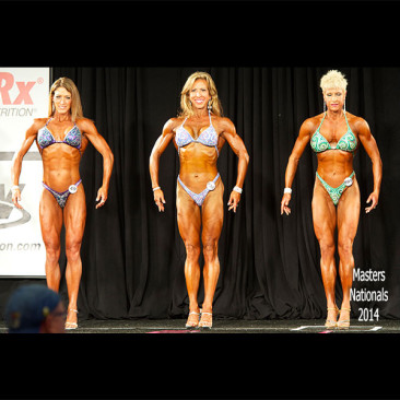 2014 Masters Nationals Championships Figure Competition, Linda Stephens