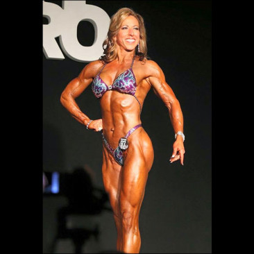 IFBB NY Pro Figure Competition, Linda Stephens